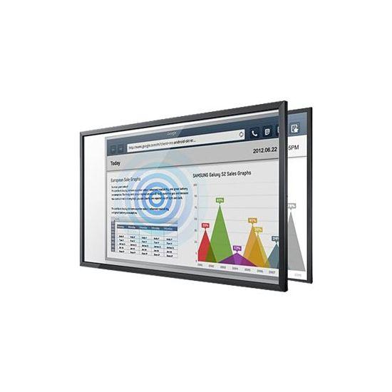 Samsung Touch Overlay CY-TM75 - berøringstransparent - sort