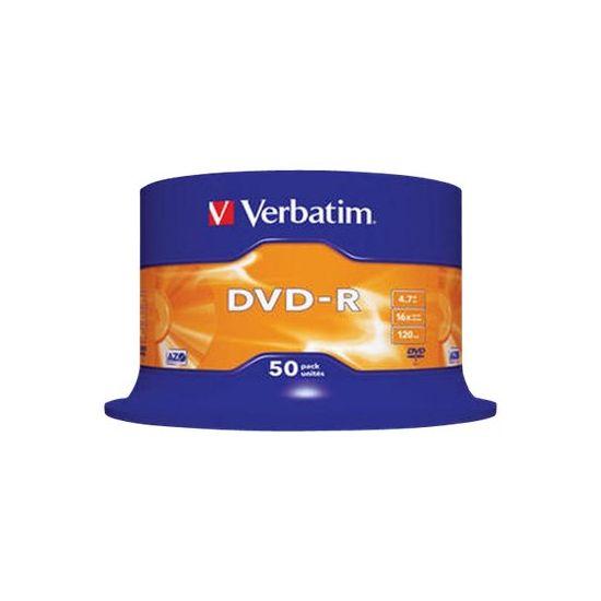 Verbatim - DVD-R x 50 - 4.7 GB - lagringsmedie