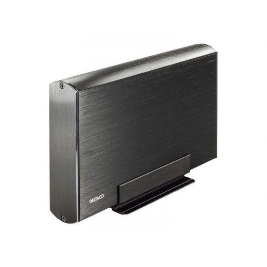 """Deltaco Harddisk kabinet til 3,5"""" harddisk til USB 3.0"""