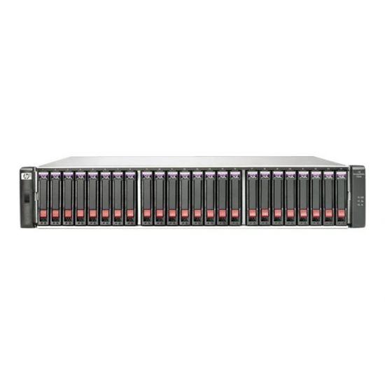 HPE Modular Smart Array 2040 SAS Dual Controller SFF Storage - harddisk-array