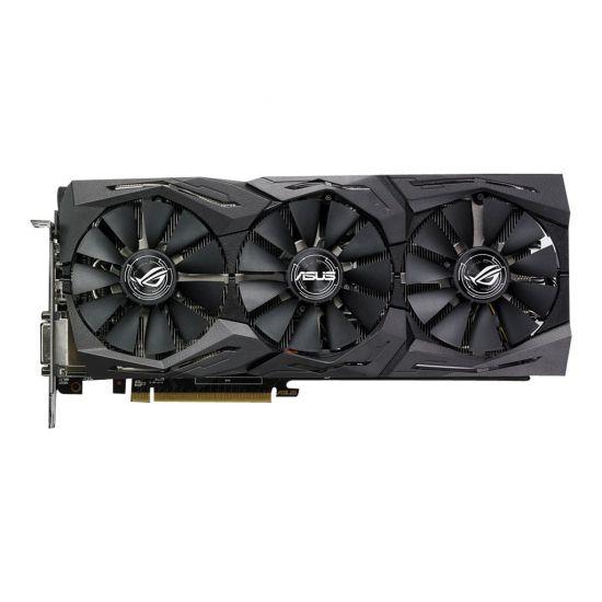 ASUS ROG-STRIX-RX580-O8G-GAMING &#45 AMD Radeon RX580 &#45 8GB GDDR5 - PCI Express 3.0 x16