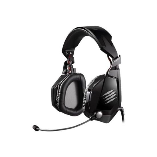 Mad Catz Cyborg F.R.E.Q.5 Gaming Headset - Sort højglans