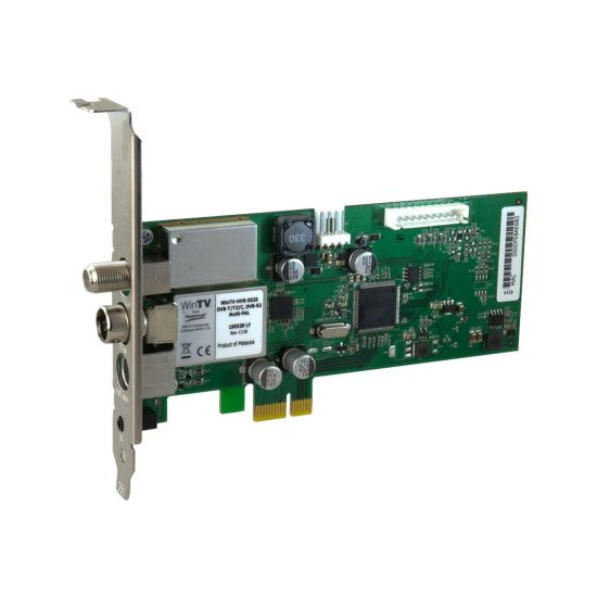 Hauppauge WinTV HVR-5525 - digital / analog TV tuner / radiotuner / videooptagelsesadapter - PCIe lav profil