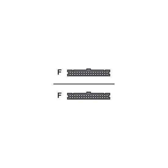 HP diskette-kabel - 18.8 cm