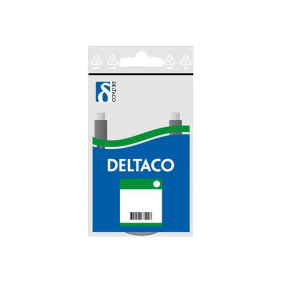 DELTACO Netværkskabel (FTP) 1 m Hvid