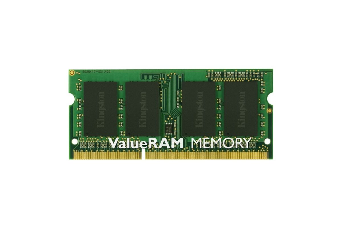 Kingston ValueRAM &#45 2GB &#45 DDR3 &#45 1600MHz &#45 SO DIMM 204-PIN