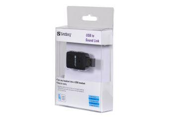 Sandberg USB to Sound Link lydkort