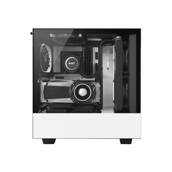 NZXT H series H500i Hvid - miditower - ATX