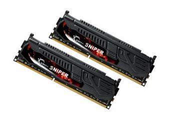 G.Skill SNIPER Series &#45 8GB: 2x4GB &#45 DDR3 &#45 1866MHz &#45 DIMM 240-pin