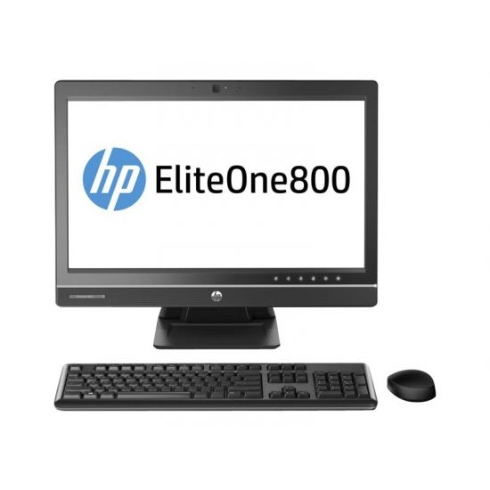 "HP EliteOne 800 G1 - alt-i-én - Core i7 4790S 3.2 GHz - 4 GB - 500 GB - LED 21.5"" - Dansk"