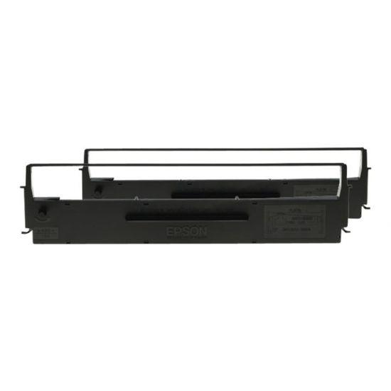 Epson Dualpack - 2 - sort - print-bånd