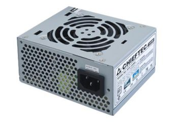 Chieftec Smart Series SFX-350BS &#45 strømforsyning &#45 350W