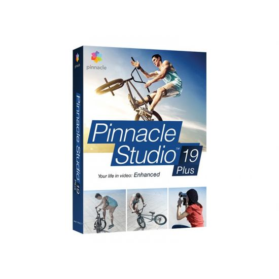 Pinnacle Studio Plus (v. 19) - bokspakke - 1 bruger