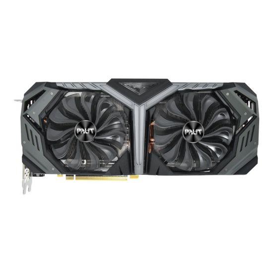 Palit GeForce RTX 2080 GameRock &#45 NVIDIA RTX2080 &#45 8GB GDDR6 - PCI Express 3.0 x16