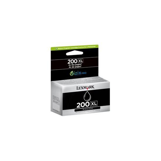 Lexmark Cartridge No. 210XL - Højtydende - sort - original - blækpatron - LCCP, LRP