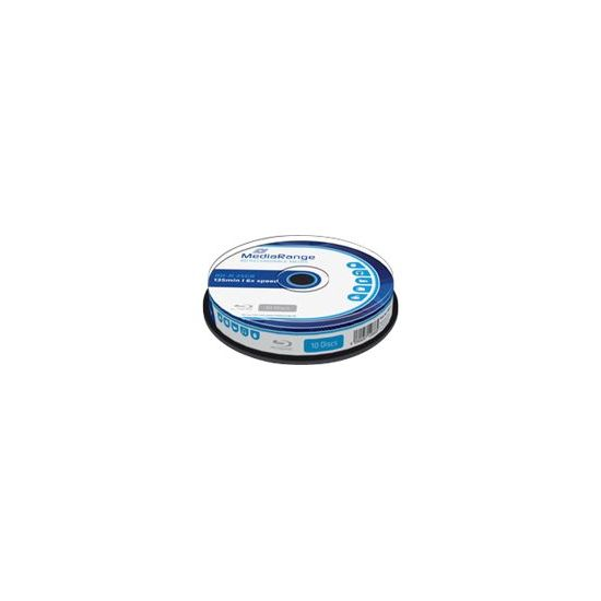 MediaRange - BD-R x 10 - 25 GB - lagringsmedie