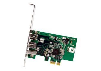 StarTech.com 3 Port 2b 1a 1394 PCI Express FireWire Card Adapter