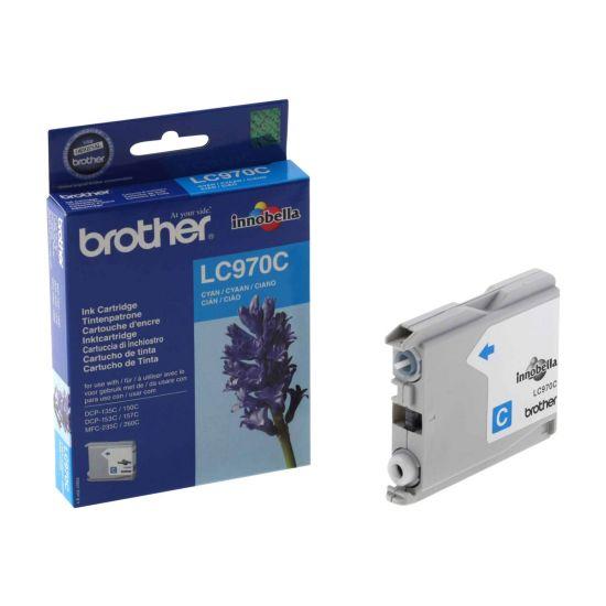 Brother LC970C - cyan - original - blækpatron