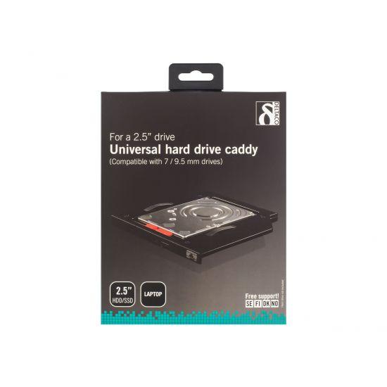 DELTACO RAM-35 - holder til lagringsenhed (caddy)