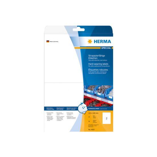 HERMA Special - filmmærkater - 50 etikette(r) - 210 x 148 mm