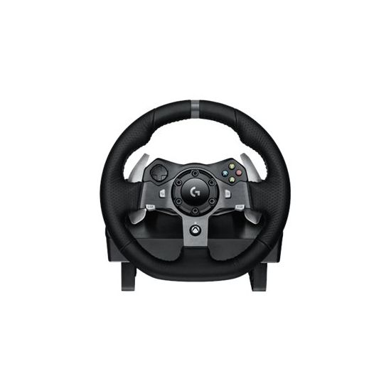 Logitech G920 Driving Force - rat og pedalsæt - kabling