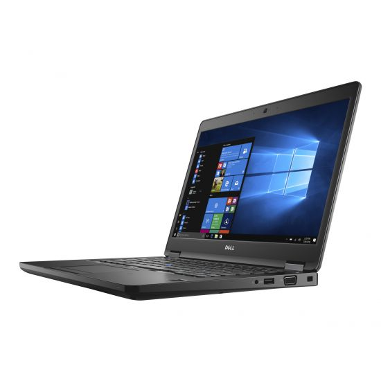 Dell Latitude 5480 - Intel Core i5 (7. Gen) 7200U / 2.5 GHz - 16 GB DDR4 - 256 GB SSD - (M.2) SATA - Intel HD Graphics 620 - 14""