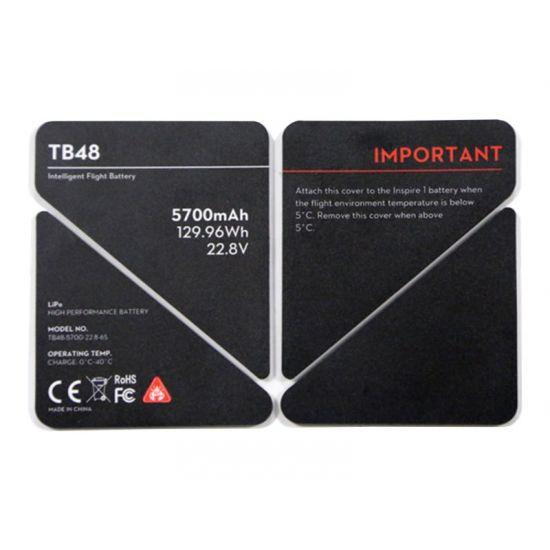 DJI TB48 - batteriisoleringsmærkat