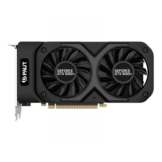 Palit GeForce GTX 10 Series GTX 1050 Ti Dual &#45 NVIDIA GTX1050Ti &#45 4GB GDDR5 - PCI Express 3.0 x16