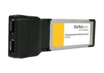 StarTech.com 2 Port ExpressCard Laptop 1394a Firewire Adapter Card