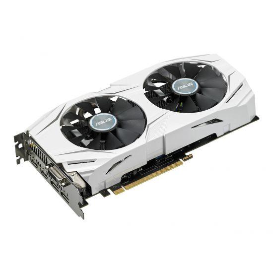 ASUS DUAL-GTX1060-O6G &#45 NVIDIA GTX1060 &#45 6GB GDDR5 - PCI Express 3.0 x16