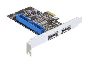 DeLOCK PCI Express Card > 2 x external eSATA 6 Gb/s + 1 x internal IDE