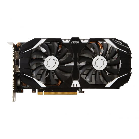 MSI GeForce GTX 1060 3GT OC grafikkort - 3GB