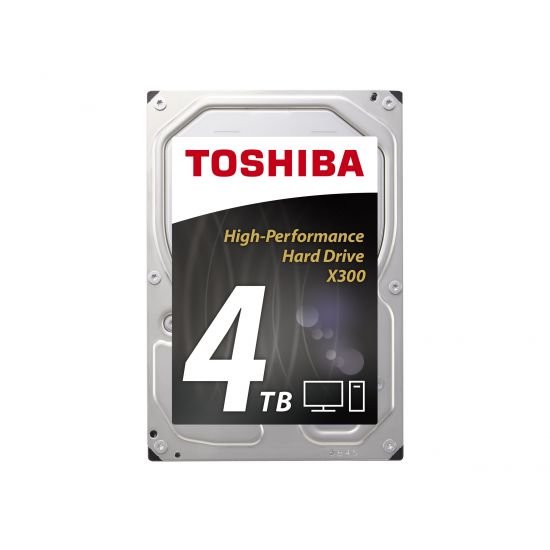 Toshiba X300 3.5´´ SATA-600 4TB - 7200rpm 128MB
