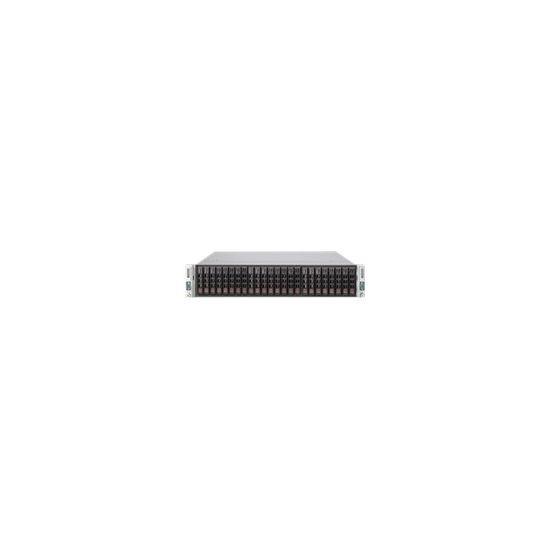 Supermicro SuperServer 2028TP-HC0R - rack-monterbar - uden CPU - 0 MB - 0 GB