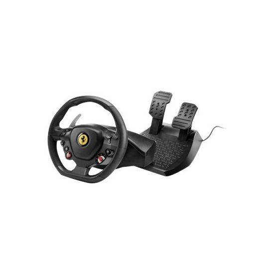 Thrustmaster Ferrari T80 488 GTB Edition - rat og pedalsæt - kabling