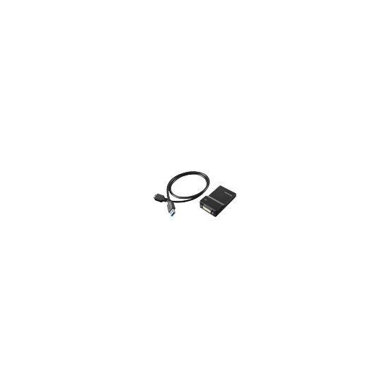 Lenovo USB 3.0 to DVI/VGA Monitor Adapter - ekstern videoadapter