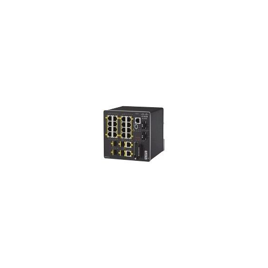 Cisco Industrial Ethernet 2000 Series - switch - 20 porte - Administreret