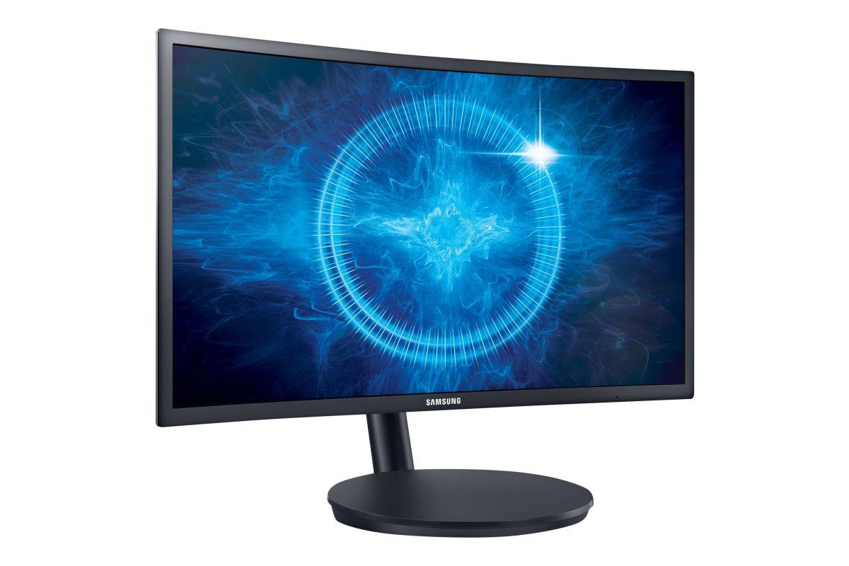 """Samsung 24"""" CFG7 Series C24FG70FQU &#45 LED-Skærm AMD FreeSync 1ms"""