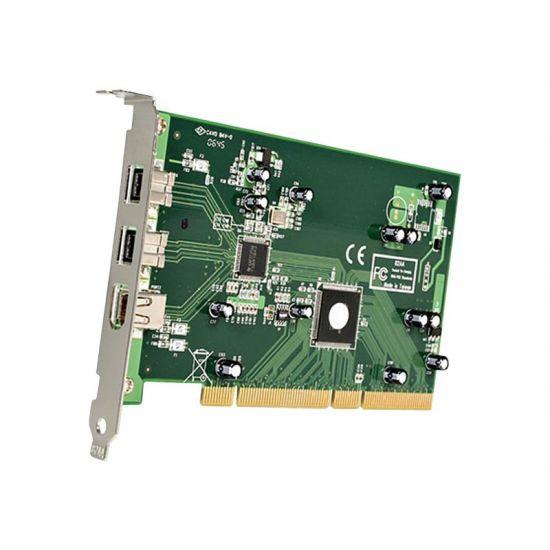 StarTech.com 3 Port 2b 1a PCI FireWire Adapter Card w/ DV Editing Kit - FireWire adapter - 3 porte