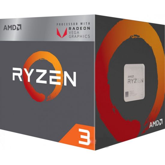 AMD Ryzen 3 2200G / 3.5 GHz Quad Core Processor