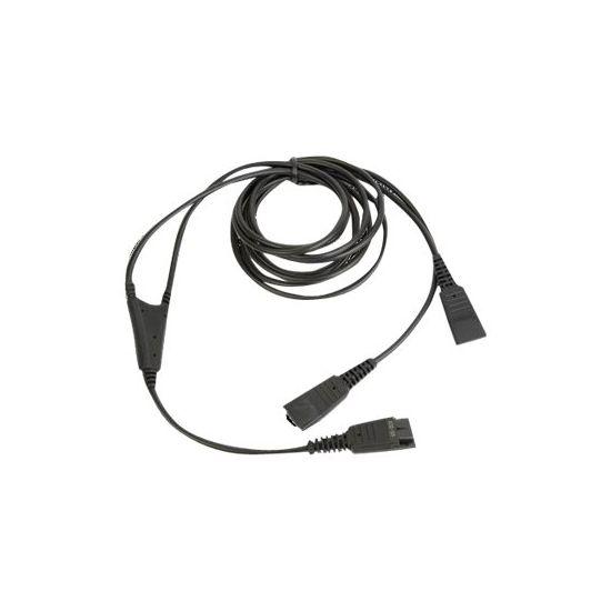 Jabra Supervisor Y-Cord - adapter til hovedtelefon - 2 m