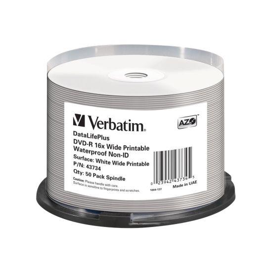 Verbatim DataLifePlus - DVD-R x 50 - 4.7 GB - lagringsmedie