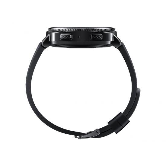 Samsung Gear Sport SM-R600 - sort - smart ur med rem - sort - 4 GB