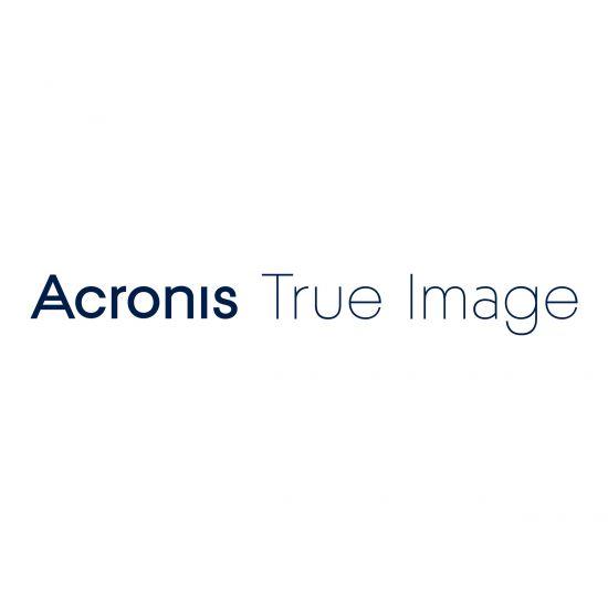 Acronis True Image Premium - licensabonnemet (1 år) - 1 computer, 1 TB skyopbevaringsplads
