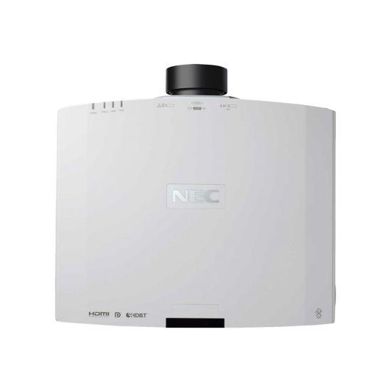 NEC PA803U - 3LCD-projektor - 3D - LAN