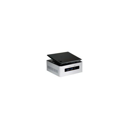 Intel Next Unit of Computing Kit NUC5i5MYHE - UCFF - Core i5 5300U 2.3 GHz - 0 MB - 0 GB