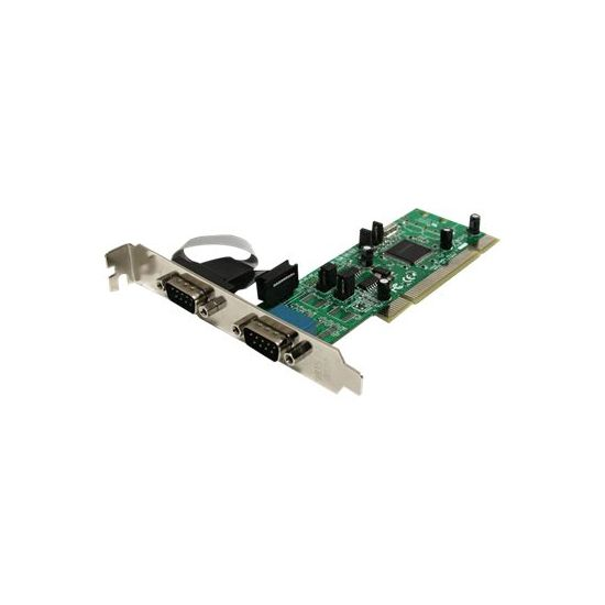 StarTech.com 2 Port PCI RS422/485 Serial Adapter Card with 161050 UART - seriel adapter