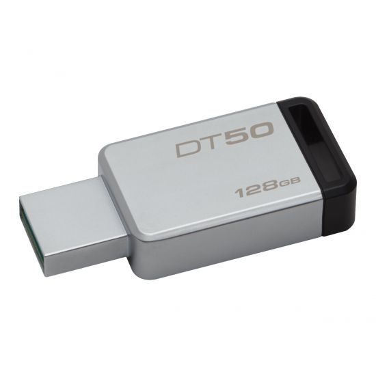 Kingston DataTraveler 50 - USB flashdrive - 128 GB