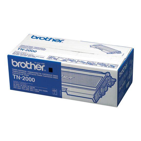 Brother TN2000 - sort - original - tonerpatron