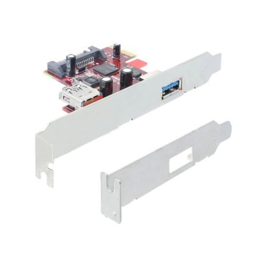 DeLock PCI Express Card - USB-adapter - 2 porte